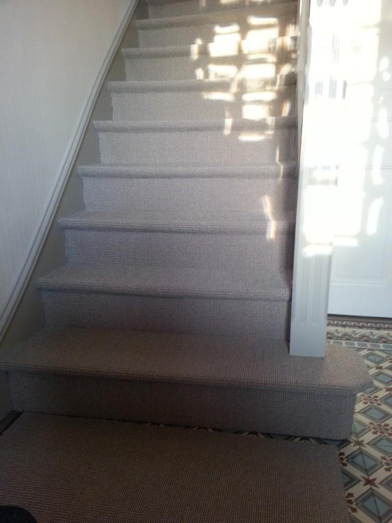 Escalier en sisal