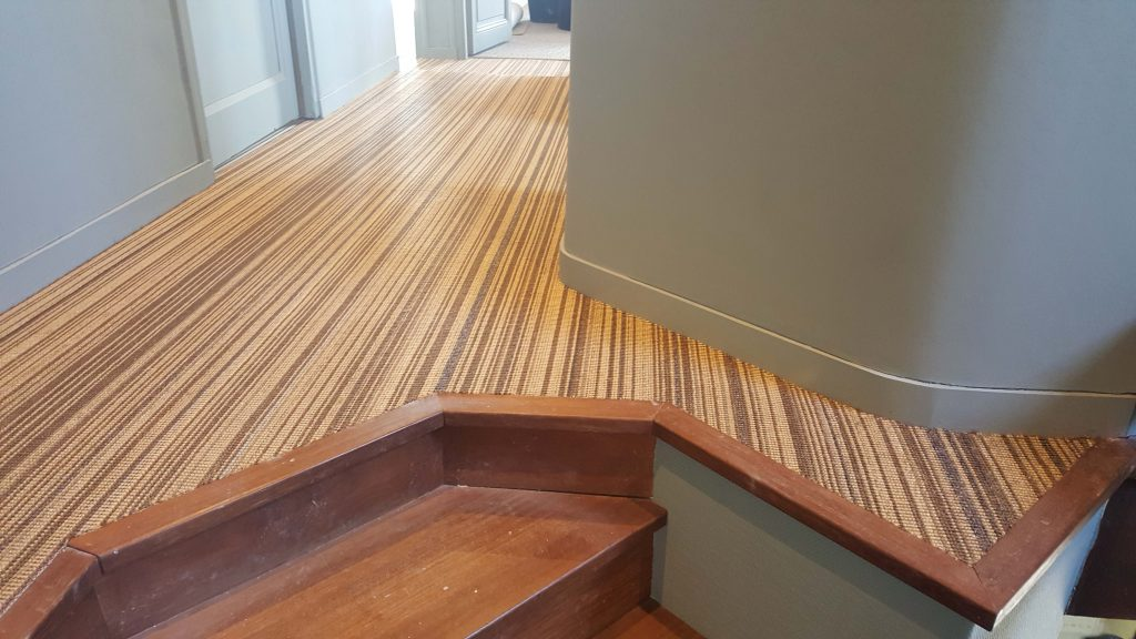 Escalier Sisal Bicolore