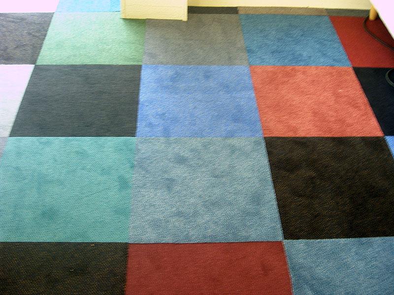 patchwork dalles moquette (la maison de la literie )1097